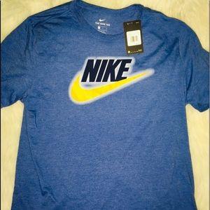 Nike Tee Blue Men's sz XL short sleeve shirt sz XL
